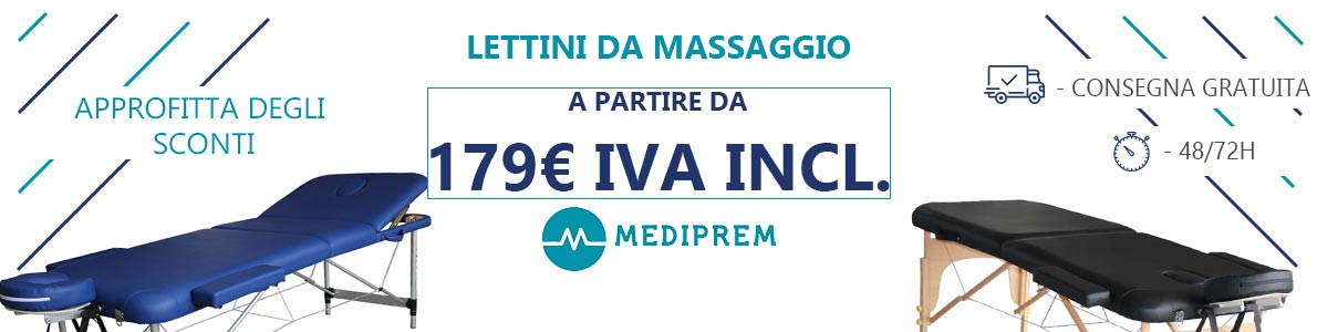 Lettino da massaggio pieghevole Mediprem