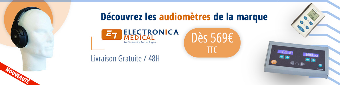 bannière audiometre electonica medical