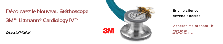 Stéthoscope 3M Littmann Cardiology IV